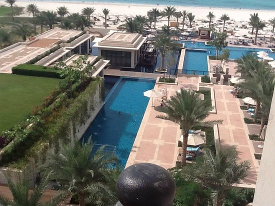 The St. Regis Saadiyat Island Resort: View from our room