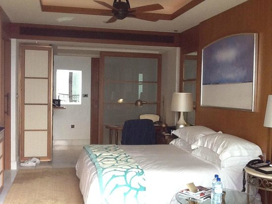The St. Regis Saadiyat Island Resort: The bedroom
