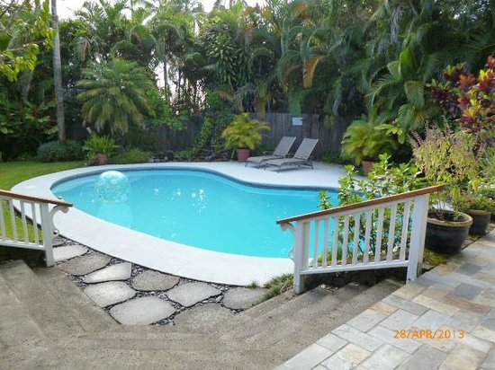 Orchid Tree Bed and Breakfast : Garden Pool Area