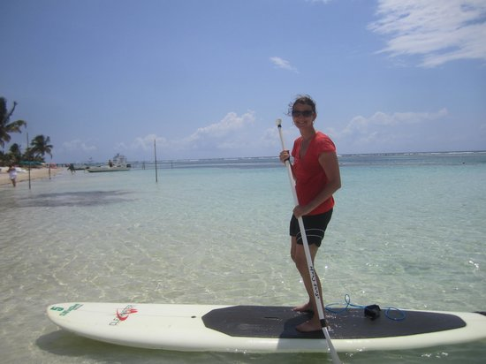 Surfinggreen: Paddleboarding