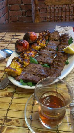 Persian BBQ House: Kebab mix - the chicken was the best  - tender and flavoursome