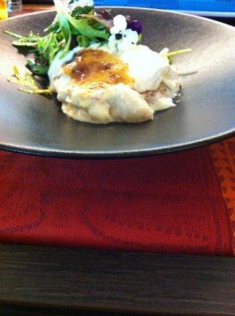 La Table d'Angèle : lasagne poisson...plat