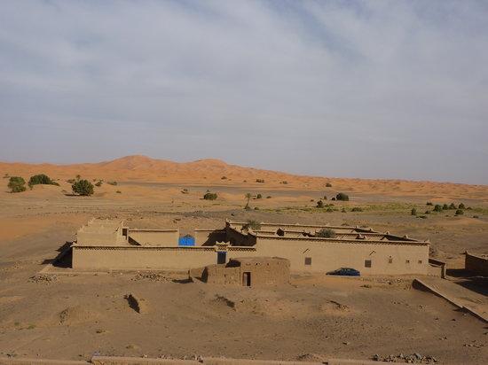 Dans les Dunes : Vue Générale de l'établissement