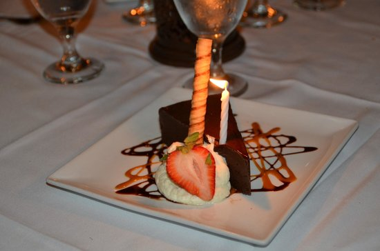 Embers Wood Grill : Chocolate Mousse Bombe - Ohhhhh, my!
