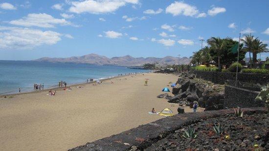 Villas Susaeta: Beach at Puerto del Carmen