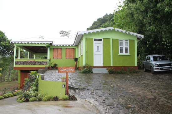 Serenity Lodges Dominica : Die Serenity Lodge