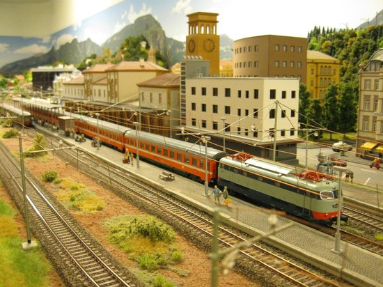 Train World (Eisenbahnwelt)
