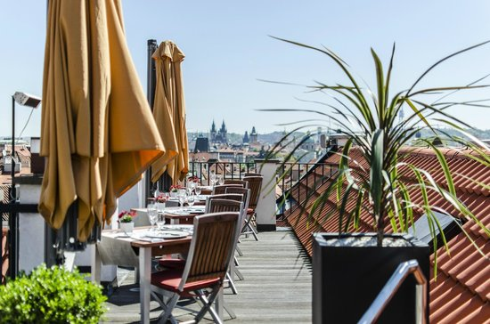 Aria Hotel Prague by Library Hotel Collection: Aria Rooftop Terrace