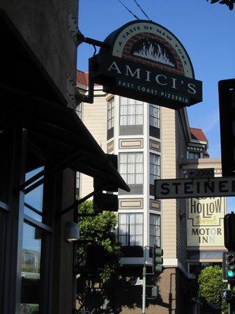 Amici's East Coast Pizzeria: On the street
