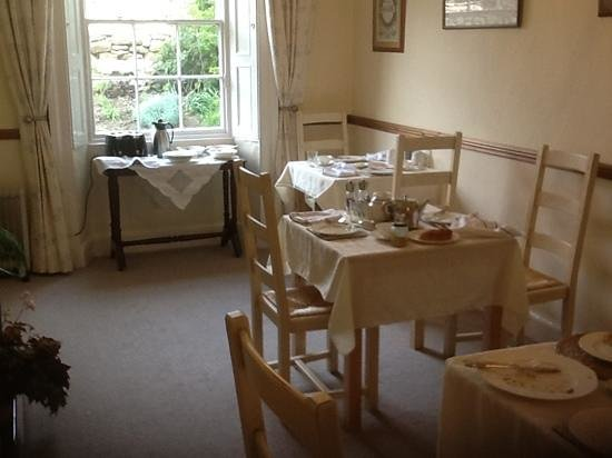 Mill Close Farm: the breakfast room