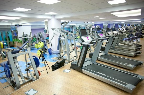 Fitness center RIN Grand Hotel
