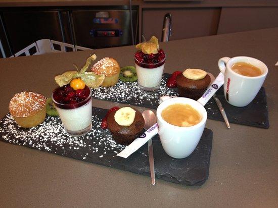 Les Trois Grâces : Café gourmand 100% maison