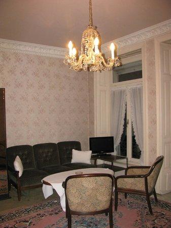 Hotel Beau Sejour Au Lac: место отдыха в номере 16