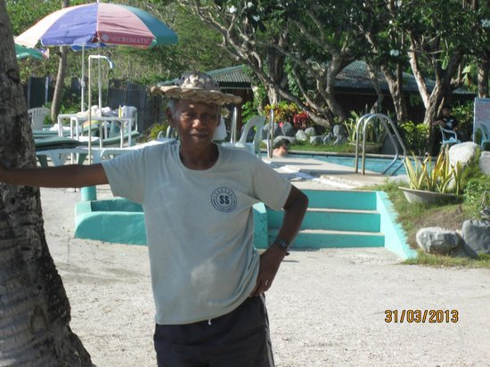Bali Hai Beach Resort: This guy will take you on a boat ride