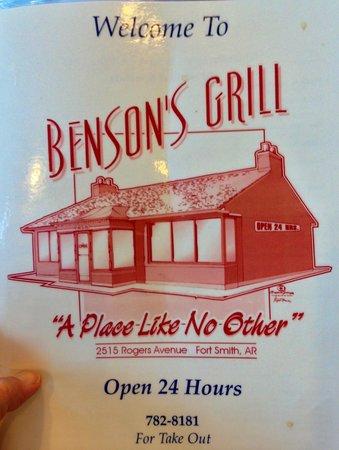 Benson's Grill