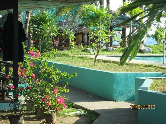 Bali Hai Beach Resort: Hotel grounds
