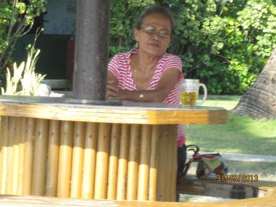 Bali Hai Beach Resort: Carmen, one of the guests