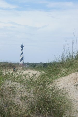 The Villas of Hatteras Landing: hatteras light