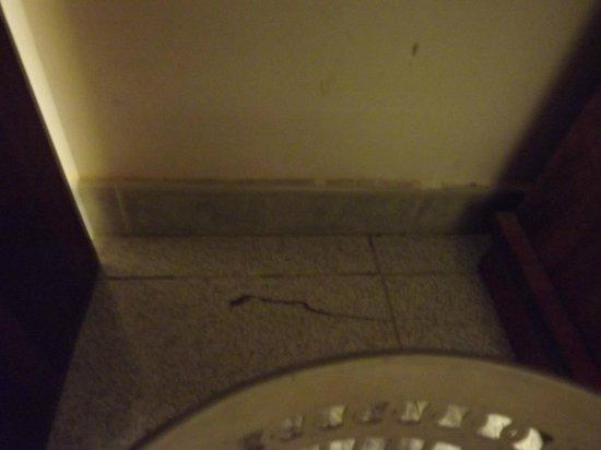 Hotel Archimede: mattonella rotta