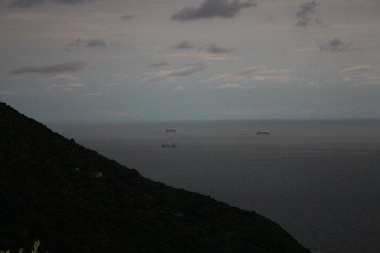 ريليه بلو: Vista dalla terrazza