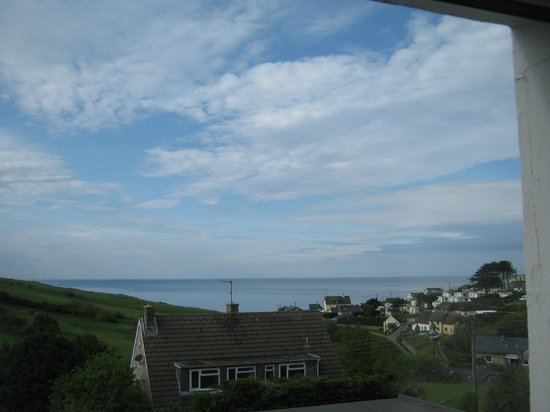 Eype's Mouth Country Hotel: View from Room No 6