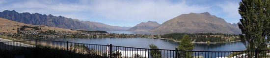 Panoramic view from our room gorgeous picture of no 70 for 70 panorama terrace queenstown