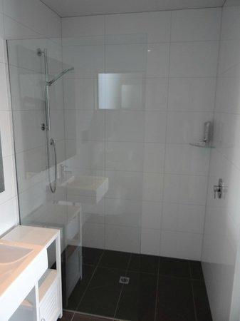 No 70, Studio Accommodation Queenstown: The shower