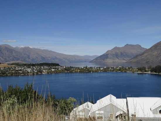 No 70, Studio Accommodation Queenstown: View from the terrace