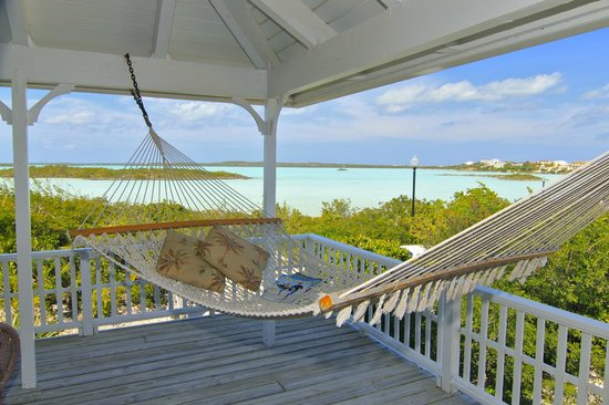 Neptune Villas : View of Chalk Sound National Park from Private Balcony
