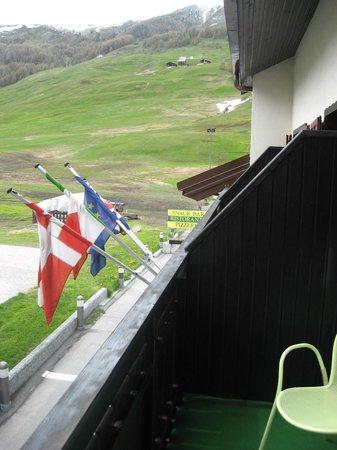 Hotel Galli's: balcone della camera