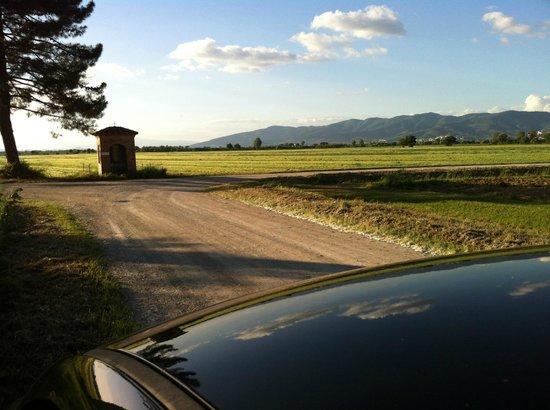 Villa La Lodola: road of the region