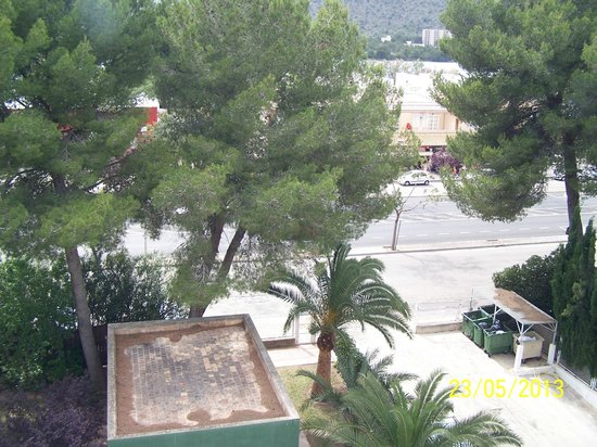 Platja d'Or: view from window