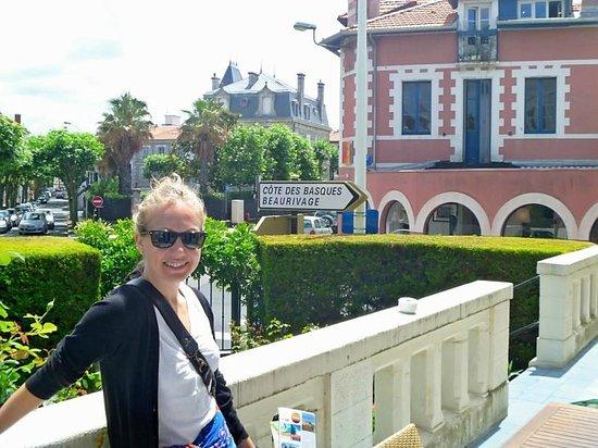 Hotel Edouard VII : The Patio of Hotel
