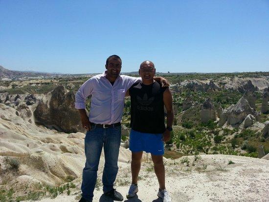 Cappadocia Hitchhiker: Murat and Keane