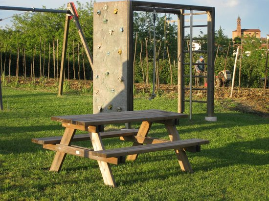 Cascina Ponchietta: Il parco
