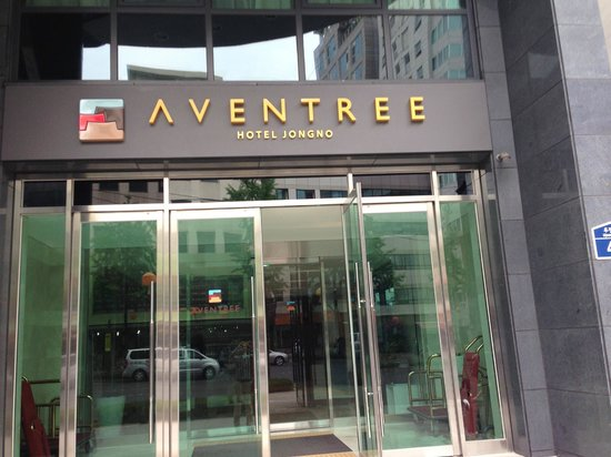 Aventree Hotel Jongno: ホテル玄関