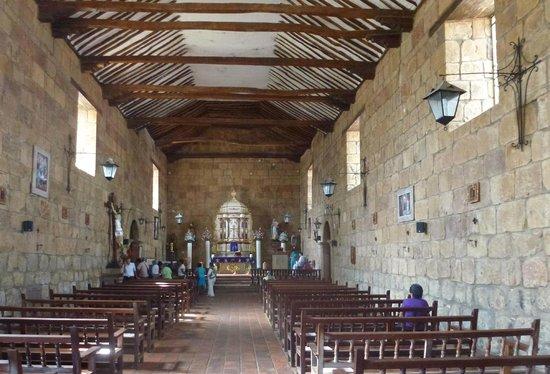 Camino Real: Kirche Santa Lucia
