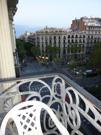 Eddy's Guest House Barcelona: Blick vom Balkon