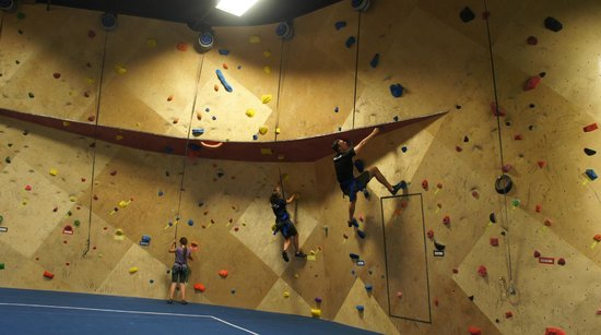 The BLOC climbing + fitness: BLOC