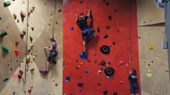 The BLOC climbing + fitness: Up they go ~ BLOC