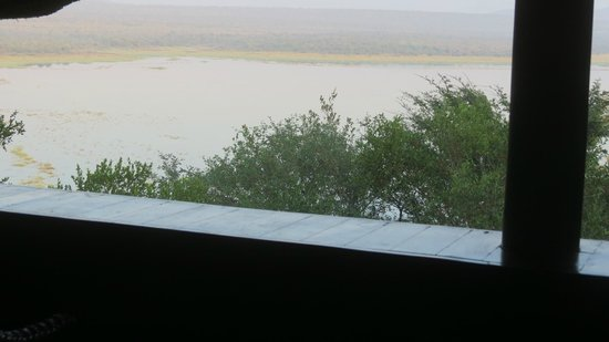 Nkwazi Lake Lodge: View from my room