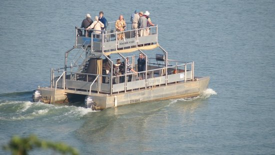 Nkwazi Lake Lodge: Boat ride