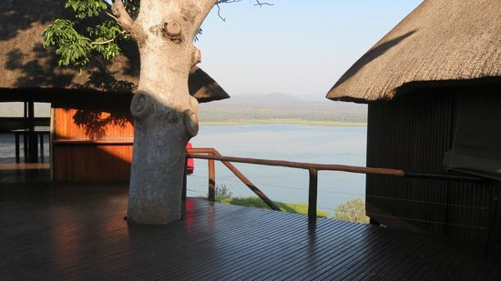Nkwazi Lake Lodge: View from the entertainment deck