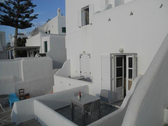 Morfoula's Studios : terrazzo