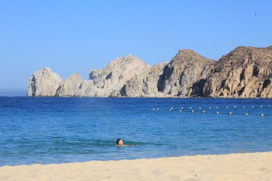 cabo villas beach resort swimming at medano beach - Cabo Villas Medano Beach