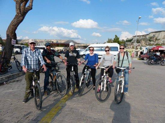Oz Cappadocia: The Gruesome Goremes bike gang ;)