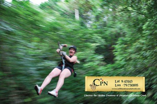 Panama Outdoor Adventures: Our famous Canopy Zip-Line Adventure!
