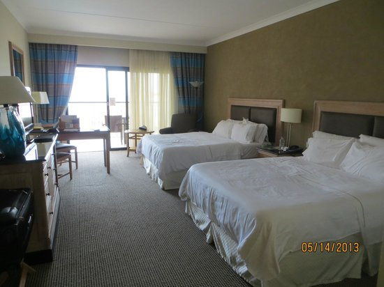 The Westin Dragonara Resort, Malta: room was spacious and kept very clean
