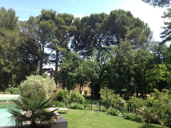 Chateau Juvenal : View from the pool