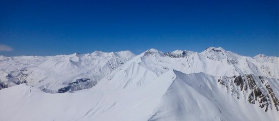 Gudauri Marco Polo: Amazing view from top of Gudauri ski area